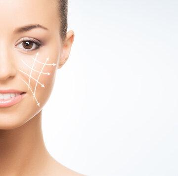 Collagen gelaatsbehandeling