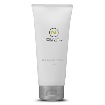 Nouvital Scrub cream sensitive 100ml