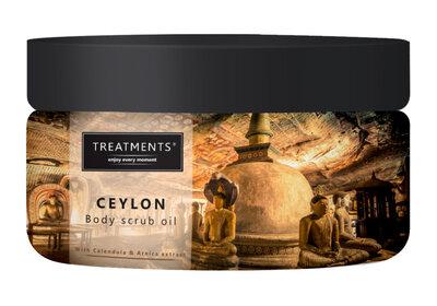 Treatments ceylon body scrub oil 500gr