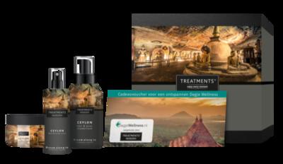 Treatments Ceylon cadeaubox wellness